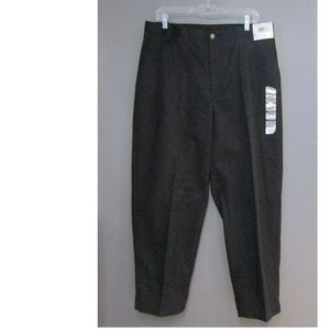 NEW Architect Black Flat Front Chinos Classic Fit